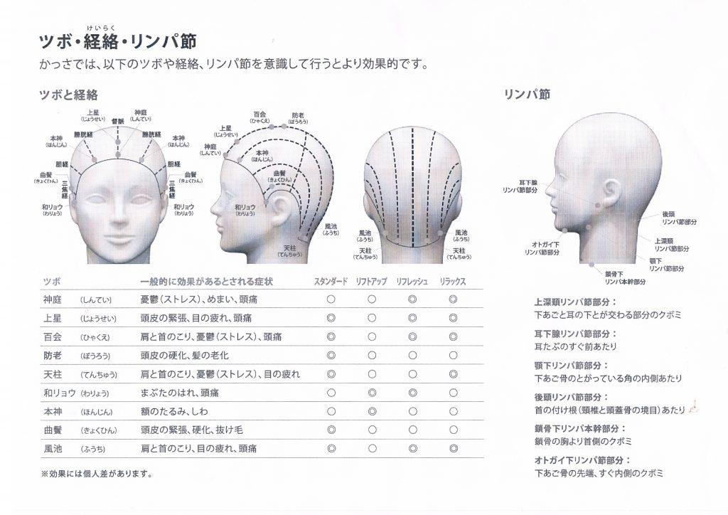 頭のツボ 1